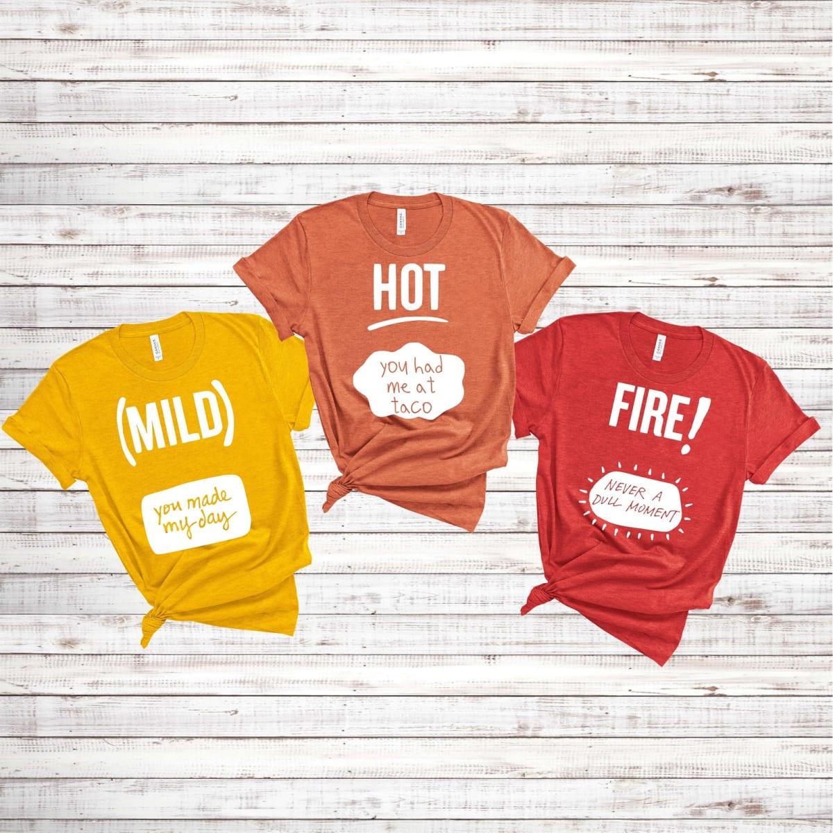 Hot Sauce Tees